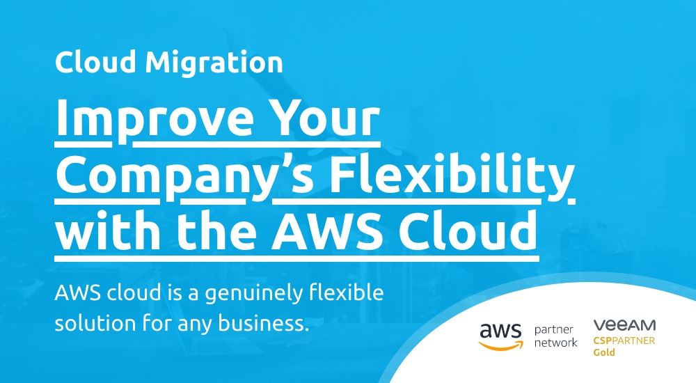 Improve Your Company's Flexibility with a Large Number of Resources Availabile in the AWS Cloud