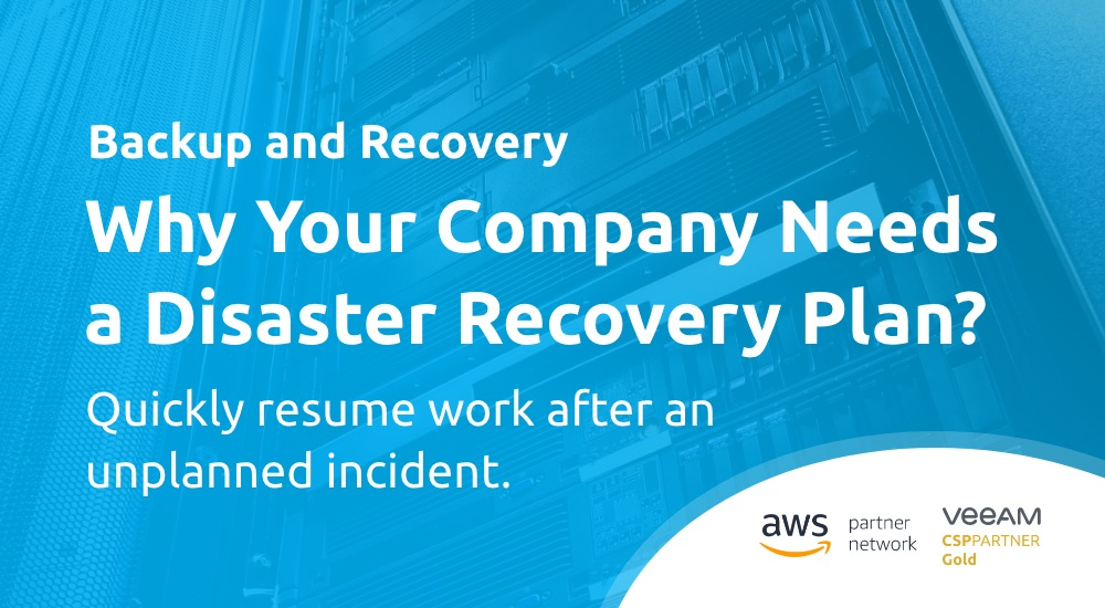 Why Your Company Needs a Disaster Recovery Plan?